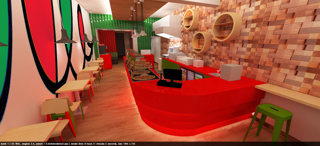 23rd Street Pizza Liz Roby Design